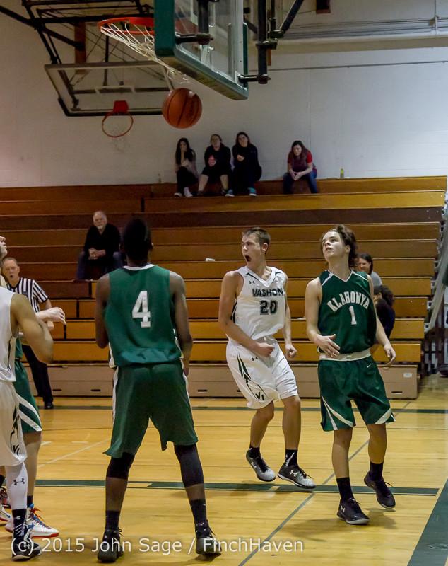 18886 Boys Varsity Basketball v Klahowya 120915