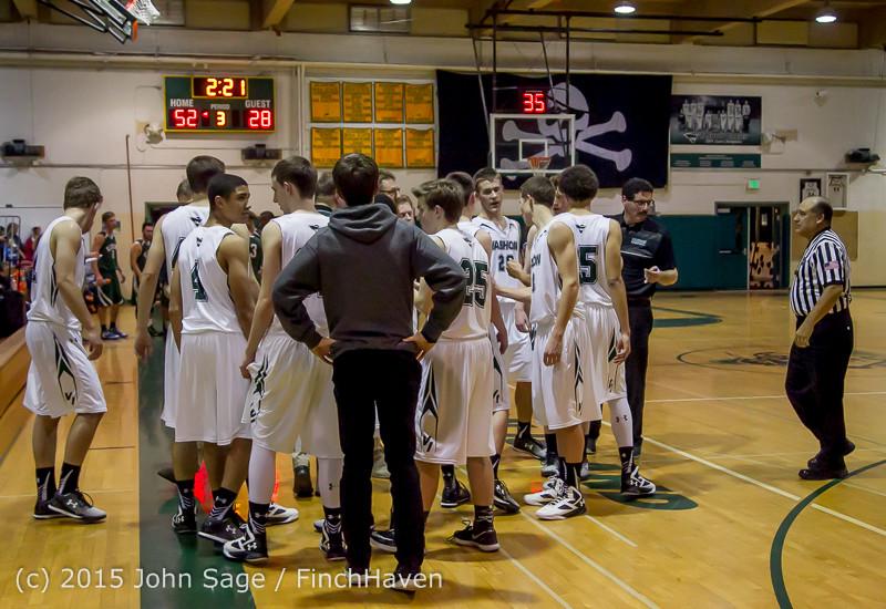 19008 Boys Varsity Basketball v Klahowya 120915