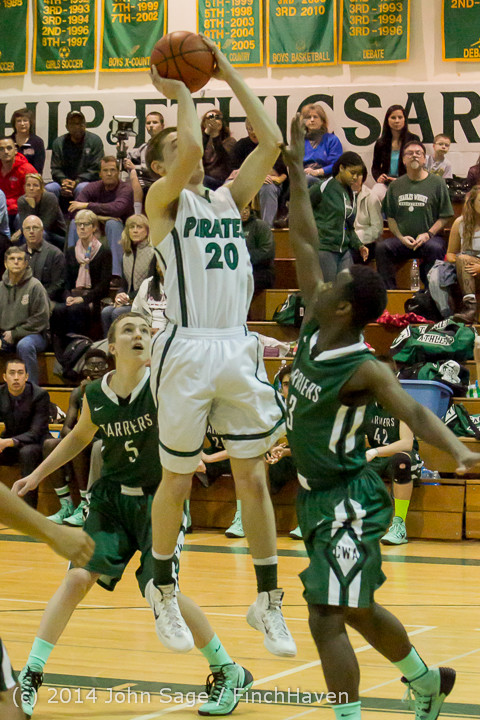 20516 Boys Varsity Basketball v CWA 01172014