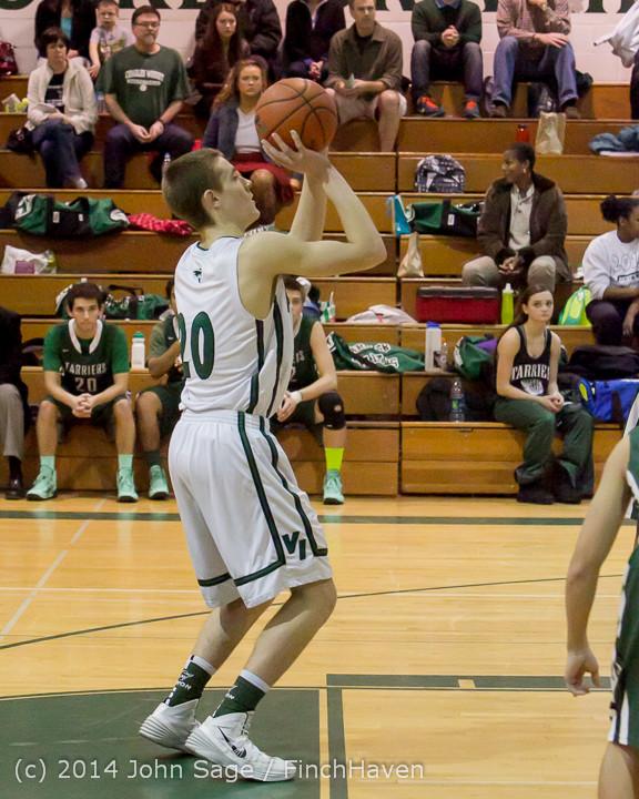 20557 Boys Varsity Basketball v CWA 01172014