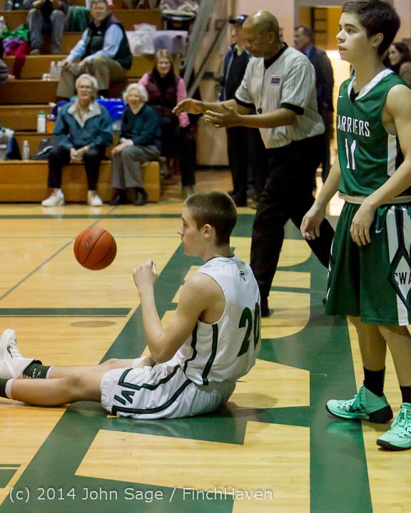 20609 Boys Varsity Basketball v CWA 01172014
