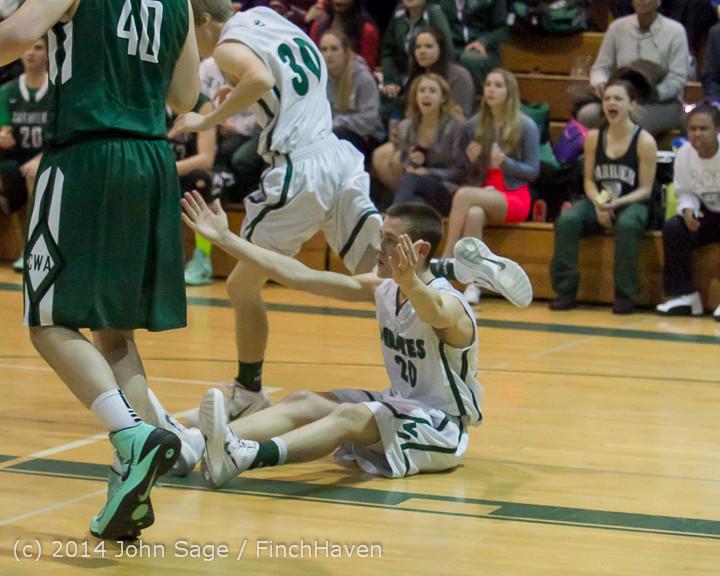 21124 Boys Varsity Basketball v CWA 01172014