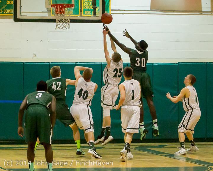 21516 Boys Varsity Basketball v CWA 01172014