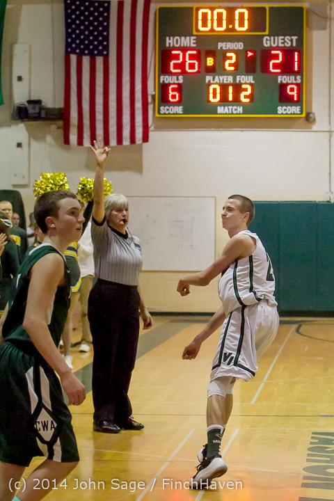 21659 Boys Varsity Basketball v CWA 01172014