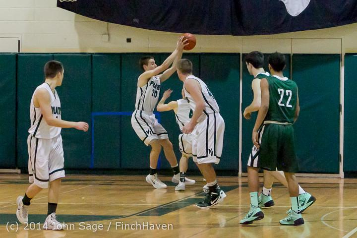 22008 Boys Varsity Basketball v CWA 01172014