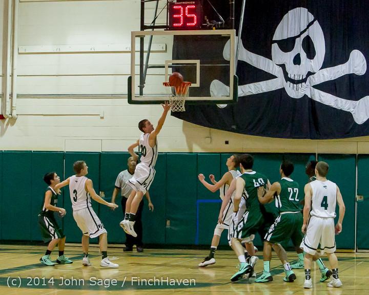 22031 Boys Varsity Basketball v CWA 01172014