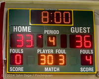 22301 Boys Varsity Basketball v CWA 01172014