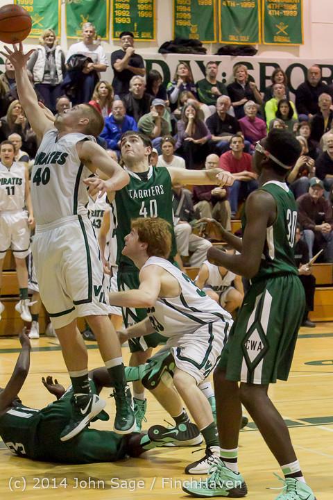 22401 Boys Varsity Basketball v CWA 01172014