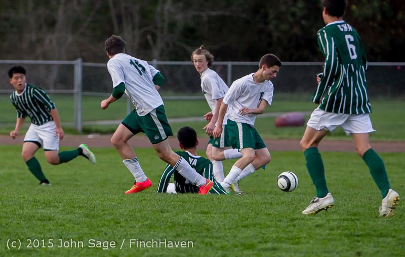 20152 Boys Varsity Soccer v CWA 032415