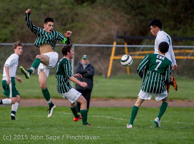 20168 Boys Varsity Soccer v CWA 032415