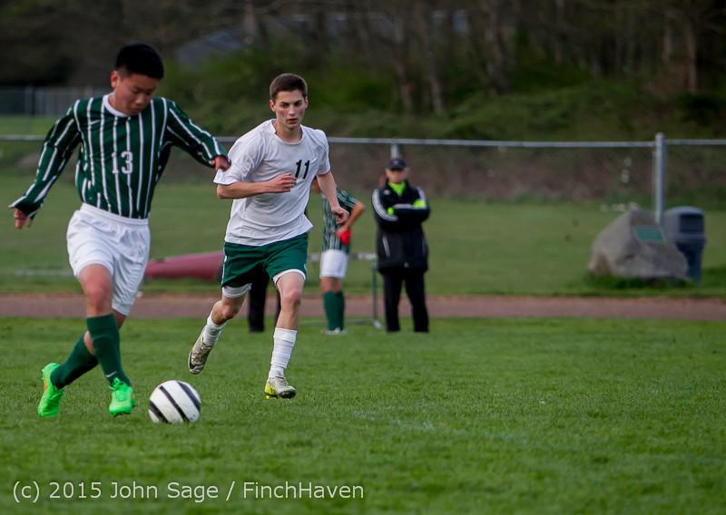 20174 Boys Varsity Soccer v CWA 032415