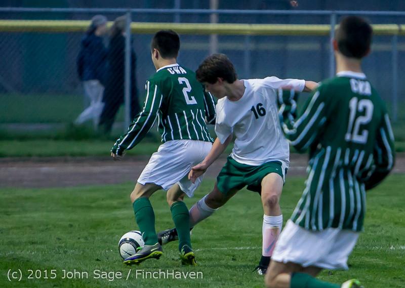 21862 Boys Varsity Soccer v CWA 032415
