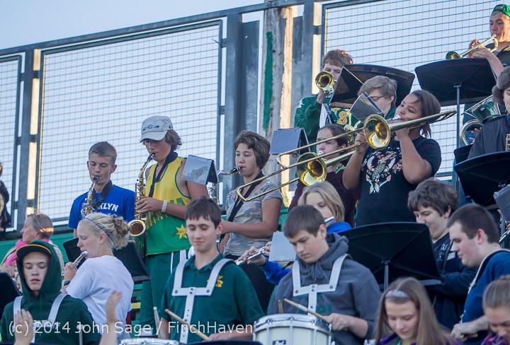3536 Cheer-Crowd-Band at Football v Port-Angeles 091214
