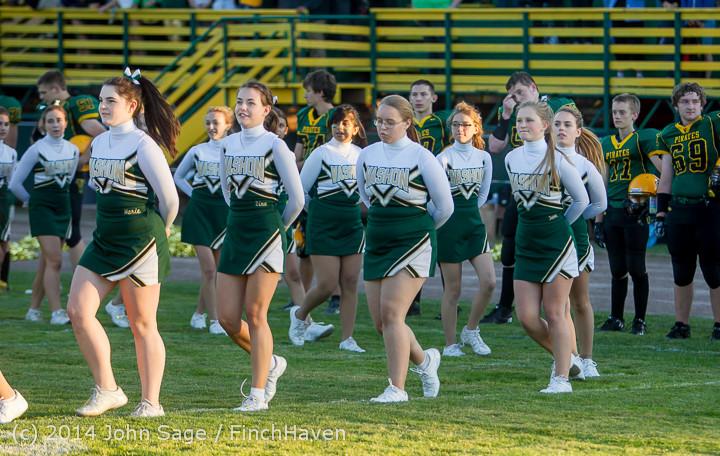 3743 Cheer-Crowd-Band at Football v Port-Angeles 091214