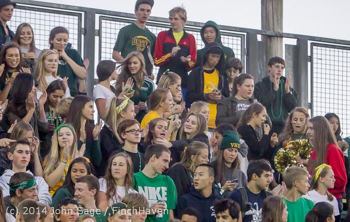 4793 Cheer-Crowd-Band at Football v Port-Angeles 091214