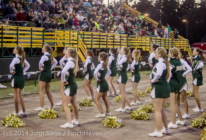 4878 Cheer-Crowd-Band at Football v Port-Angeles 091214