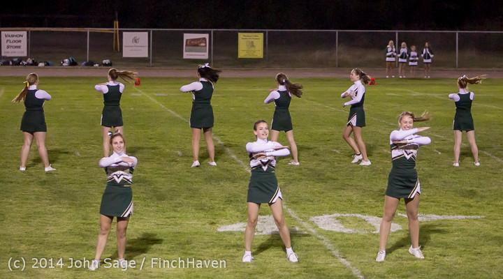 5254 Cheer-Crowd-Band at Football v Port-Angeles 091214