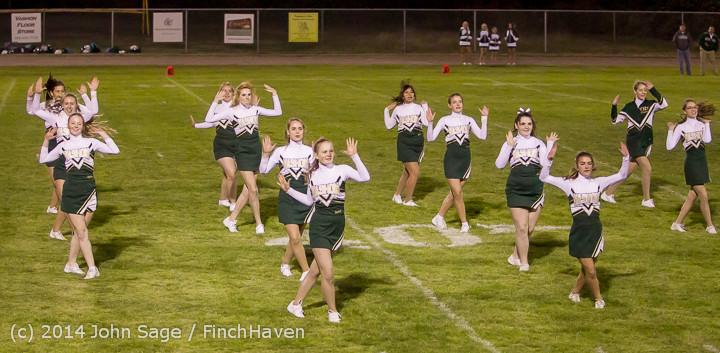 5267 Cheer-Crowd-Band at Football v Port-Angeles 091214