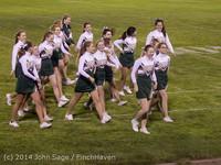 5536 Cheer-Crowd-Band at Football v Port-Angeles 091214