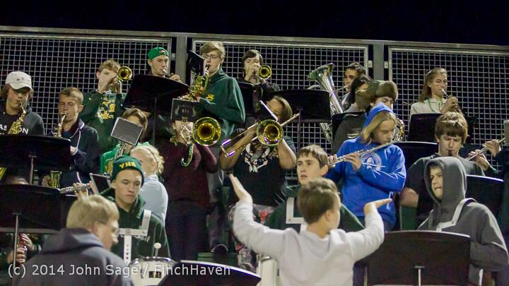 5574 Cheer-Crowd-Band at Football v Port-Angeles 091214