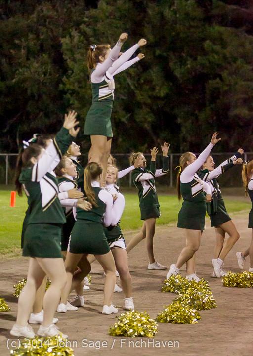 5629 Cheer-Crowd-Band at Football v Port-Angeles 091214
