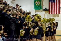 5626 Cheer and Black-Out at BBall v Granite Falls 120214