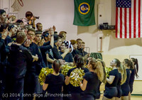5628 Cheer and Black-Out at BBall v Granite Falls 120214