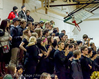 5644 Cheer and Black-Out at BBall v Granite Falls 120214