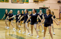 5923 Cheer and Black-Out at BBall v Granite Falls 120214