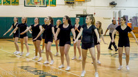 5930 Cheer and Black-Out at BBall v Granite Falls 120214