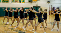 5940 Cheer and Black-Out at BBall v Granite Falls 120214