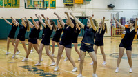 5942 Cheer and Black-Out at BBall v Granite Falls 120214