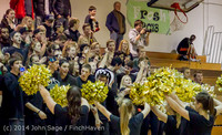 6325 Cheer and Black-Out at BBall v Granite Falls 120214