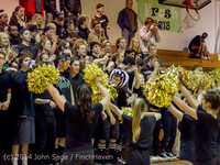 6328 Cheer and Black-Out at BBall v Granite Falls 120214