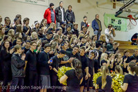 6333 Cheer and Black-Out at BBall v Granite Falls 120214