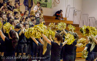 6349 Cheer and Black-Out at BBall v Granite Falls 120214