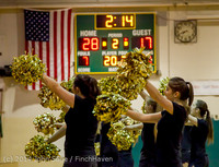 6360 Cheer and Black-Out at BBall v Granite Falls 120214