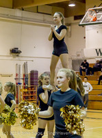 6547 Cheer and Black-Out at BBall v Granite Falls 120214