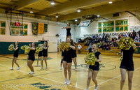 6558 Cheer and Black-Out at BBall v Granite Falls 120214