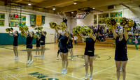 6560 Cheer and Black-Out at BBall v Granite Falls 120214