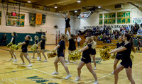 6568 Cheer and Black-Out at BBall v Granite Falls 120214