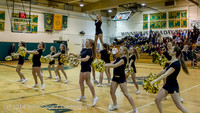 6570 Cheer and Black-Out at BBall v Granite Falls 120214