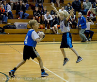6609 VIJB halftime Kiddos at BBall v Granite Falls 120214