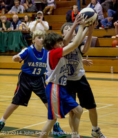 6636 VIJB halftime Kiddos at BBall v Granite Falls 120214