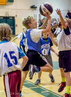6685 VIJB halftime Kiddos at BBall v Granite Falls 120214