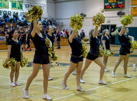7836 Cheer and Black-Out at BBall v Granite Falls 120214