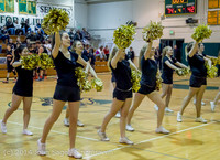 7839 Cheer and Black-Out at BBall v Granite Falls 120214