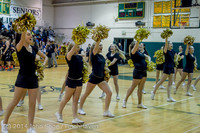 7842 Cheer and Black-Out at BBall v Granite Falls 120214