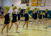 7845 Cheer and Black-Out at BBall v Granite Falls 120214