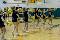 7849 Cheer and Black-Out at BBall v Granite Falls 120214